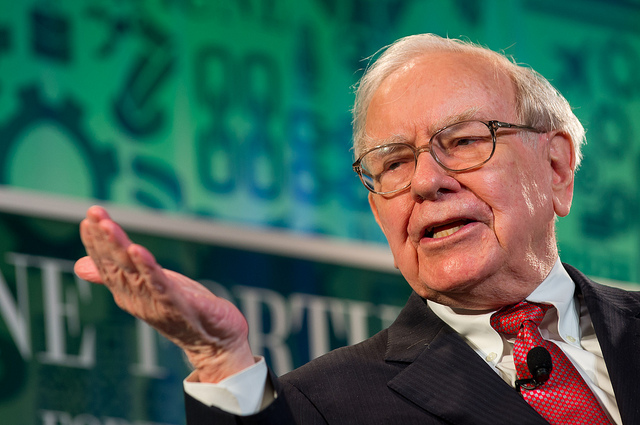 Warren Buffet- by Stuart Isett/Fortune Most Powerful Women CC-BY-ND 2.0