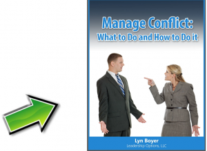 Manage Conflict